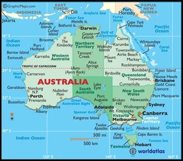 map australia 2