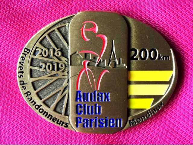 ACP 200k finisher medal