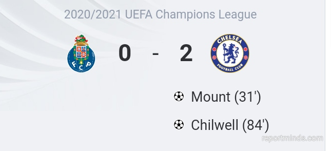 UEFA Champions League: Mount and Chilwell gives Chelsea 2-0 victory against Porto in first leg quarter final (Highlights) 2020-2021