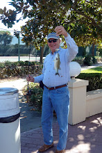 Photo: Jerry Lester With Bass Caught In Silver Lake Rec. Center Pond - 11/12/2011