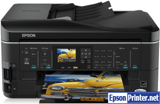 How to reset Epson SX620 printer