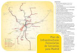 Presentado el Plan de Cercanías 2009-2015 - pincha para ampliar el plano