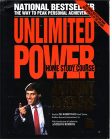 Cover of Anthony Robbins's Book Unlimited Power Home Study Course