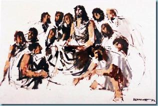 Cristo_e_gli_apostoli by Sergio Bramante