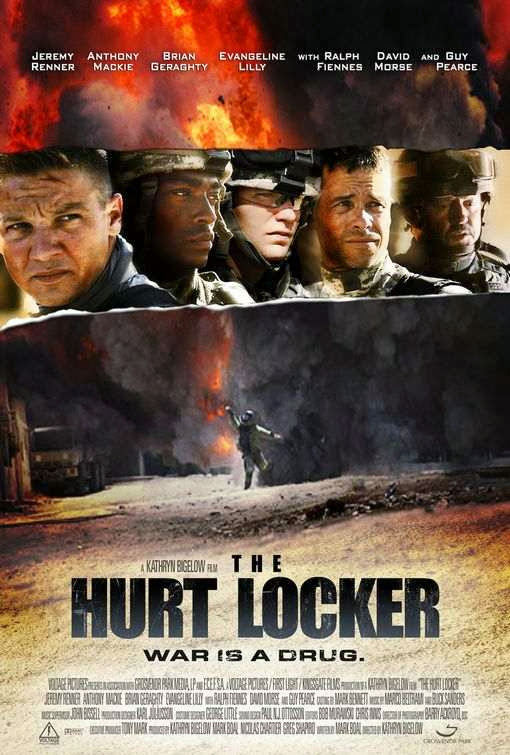 Poster Of The Hurt Locker (2008) Full Movie Hindi Dubbed Free Download Watch Online At Alldownloads4u.Com