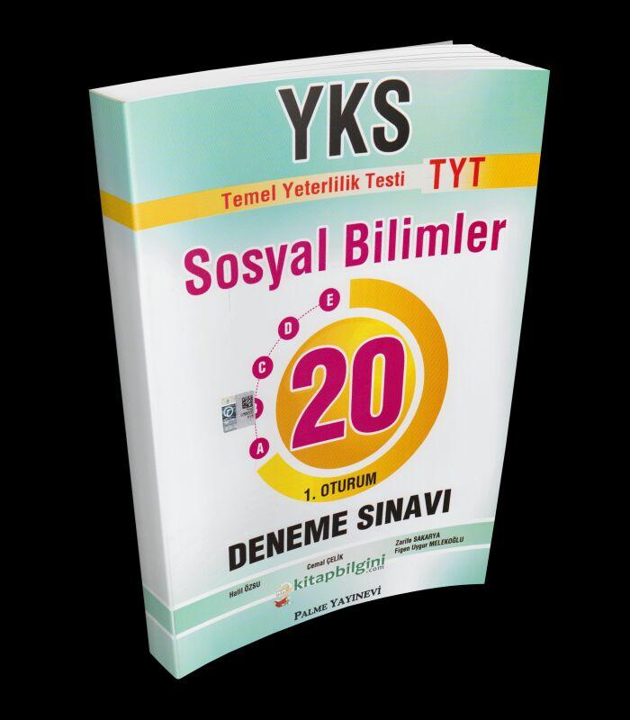 Palme Yayınları YKS TYT Sosyal Bilimler 20 Deneme Sınavı (2019-2020).pdf