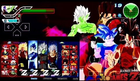 SAIUU!!! NOVO MOD DRAGON BALL Z SUPER TENKAICHI TAG TEAM + MENU ISO V9 + DOWNLOAD