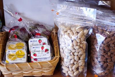 おすすめ商品:ジャム(ポーション)&糖衣ピーナッツ