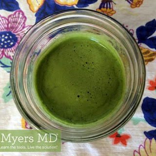 Ginger Green Juice.