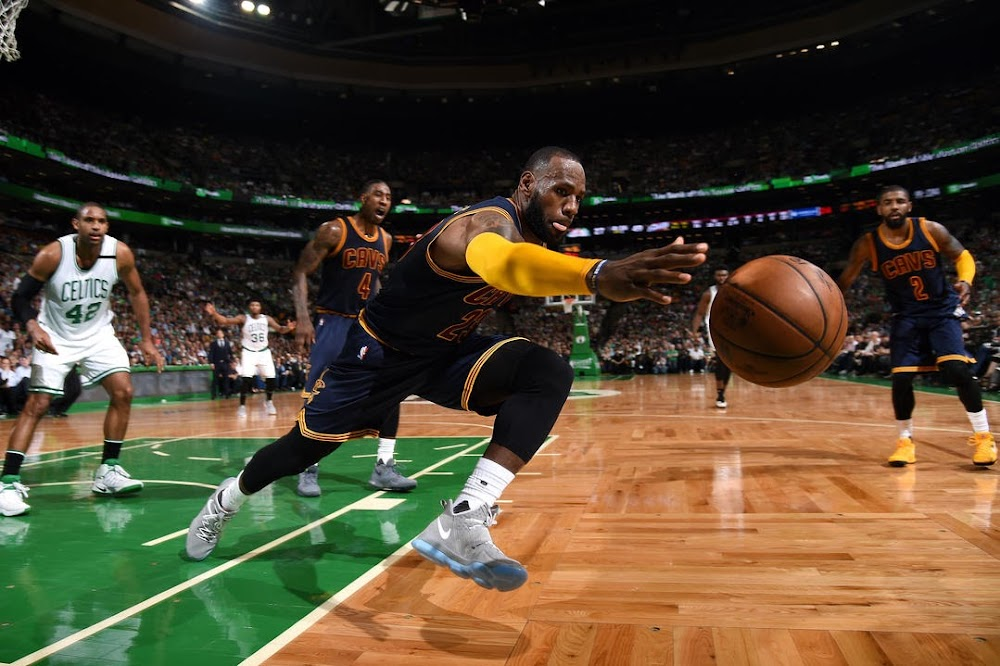 LeBron James Powers Cavs to ECF Game 1 Win in LeBron 14 ...