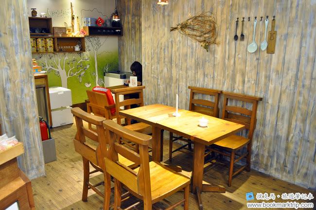 森製菓用餐空間
