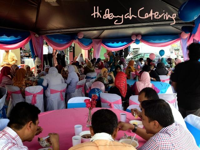HIDAYAH CATERING: Official Launching lunch for Yogen Fruz
