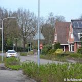 Botsing door voorrangsfout Feiko Clockstraat - Winschoterweg - Foto's Teunis Streunding