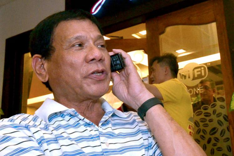 Image of Hotline 8888 Duterte Philippines