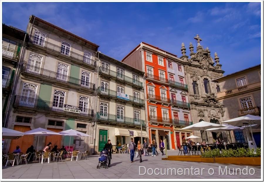 Largo São Domingos; Rua das Flores, Porto