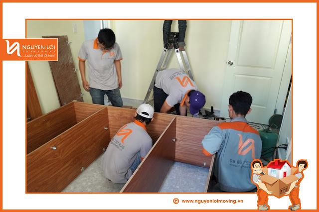 Quy trình chuyển văn phòng trọn gói
