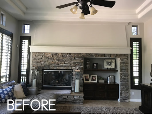 Fireplace redesign