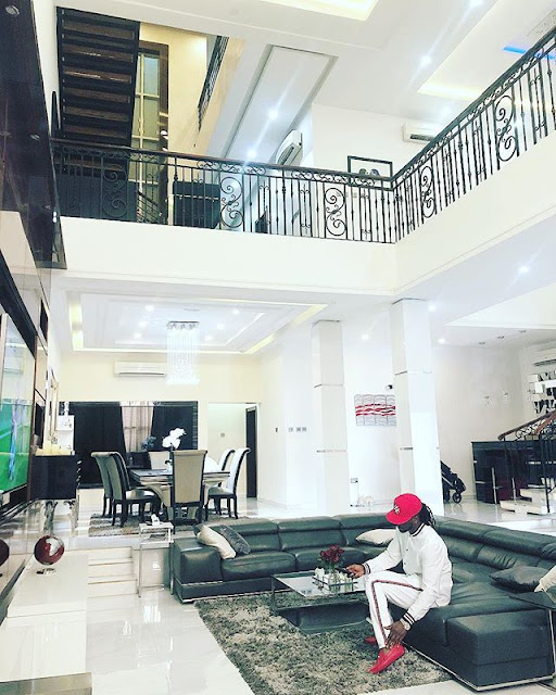 Popular Musician Paul Okoye has gone over the internet to flaunts his multi million car and house. Paul also recently shared cute pictures of his children, Nadia and Nathan - Obinna and adaobi