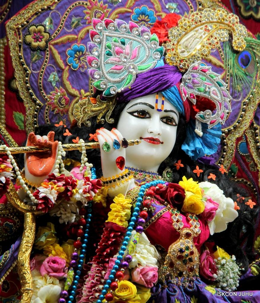 ISKCON Juhu Sringar Deity Darshan 20 Jan 2017 (11)