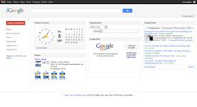 iGoogle Design September 2011