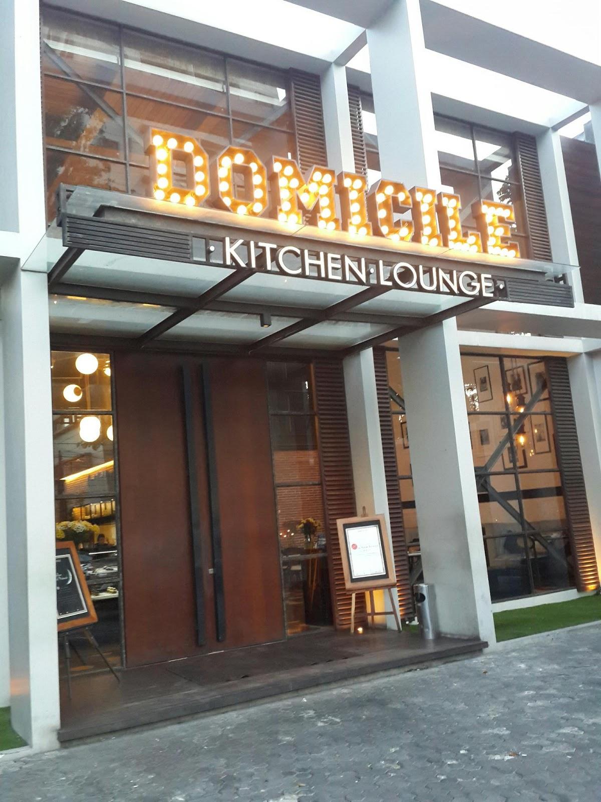 DOMICILE KITCHEN LOUNGE, THE MOST FAVORITE CAFE IN SURABAYA?