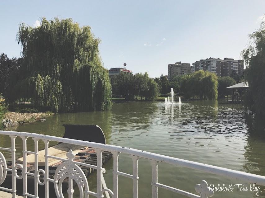 Estanque Parque Yamaguchi Pamplona