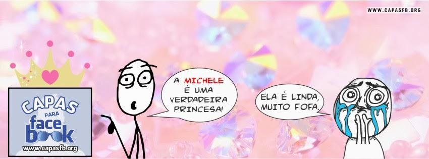 Capas para Facebook Michele