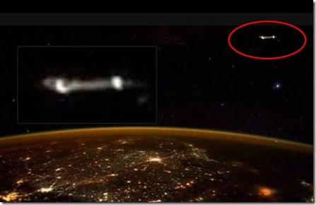 ufo iss nasa space Scott Kelly