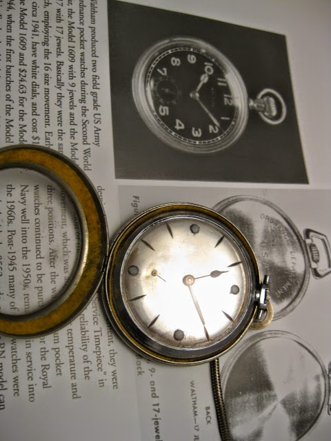RARE INVICTA POCKET W MARKSMAN BADE + 1946 JAPAN COVER - IMG_8647.JPG