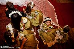 Foto 1216. Marcadores: 15/05/2010, Casamento Ana Rita e Sergio, Daminhas Pajens, Rio de Janeiro