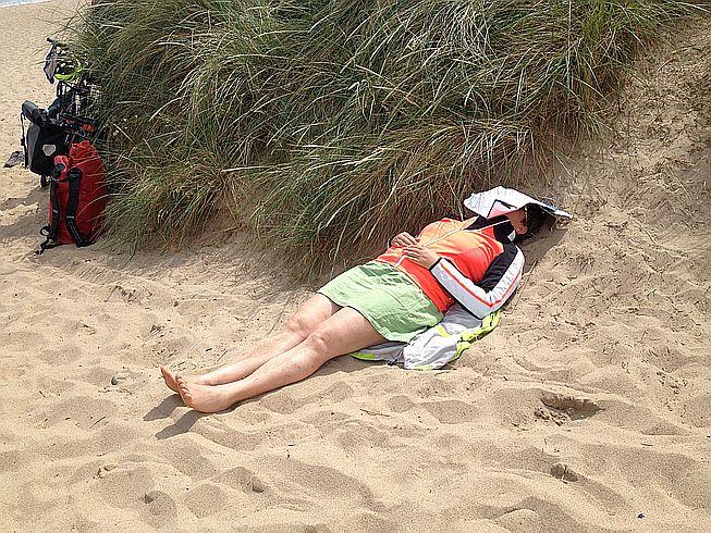 Miri am Strand von Warkworth