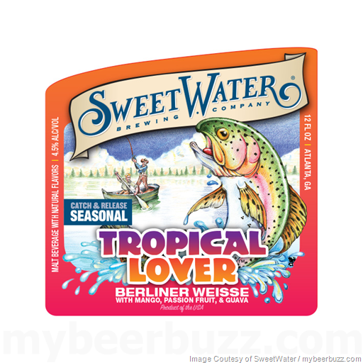 SweetWater Adding NEW Tropical Lover Berliner Weisse Cans