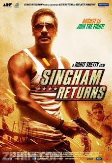 Cảnh Sát Singham Trở Lại - Singham Returns (2014) Poster