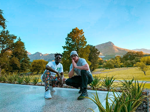 Union 5 in studio with Mr Eazi and Diplo