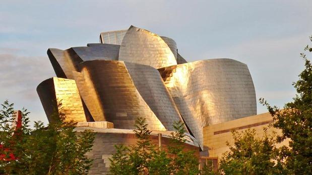 En Museo Guggenheim Bilbao.2