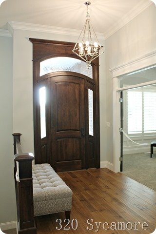 entryway dark door