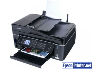 How to reset Epson BX610FW printer