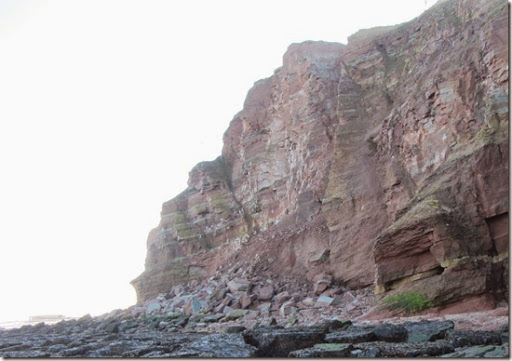 Felswatt Helgoland Abbruch Windrose