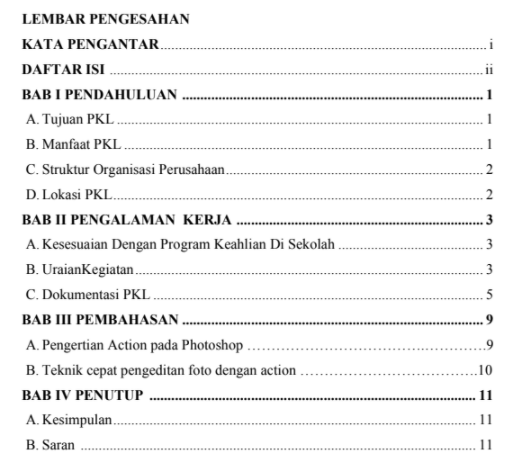 Laporan PKL PDF : Kumpulan Contoh Laporan Prakerin Multimedia Gratis