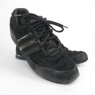 Y-3 Yohji Yamamoto x Adidas Hide and Leather Sneakers