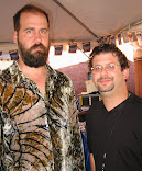 Ron Louis With Krist Novoselic Bass Player For Nirvana