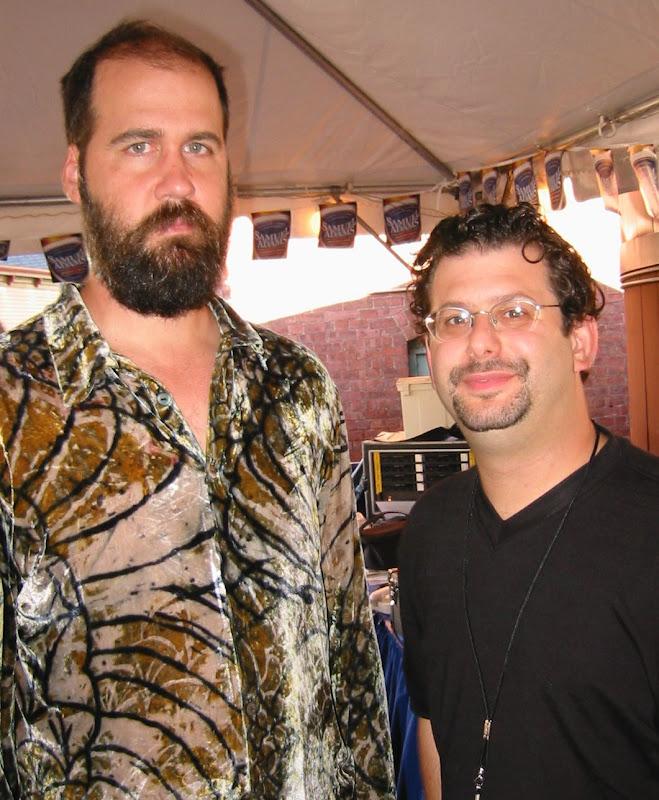 Ron Louis With Krist Novoselic Bass Player For Nirvana, David Copeland