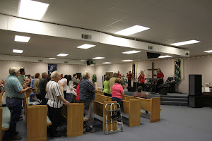 So many wonderful family and friends came to be in service with us here! It was awesome!