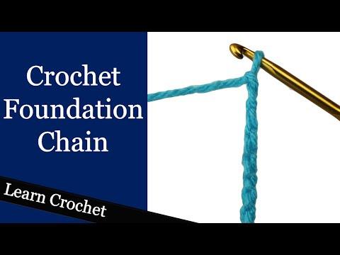 Crochet Foundation Chains @ Crochet Treasures