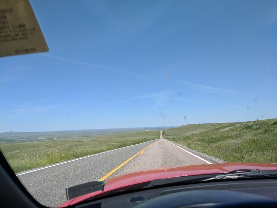 Montana roads