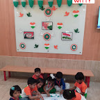 Republic Day Celebration of Playgroup Section(2017-18) at Witty World, Bangur Nagar