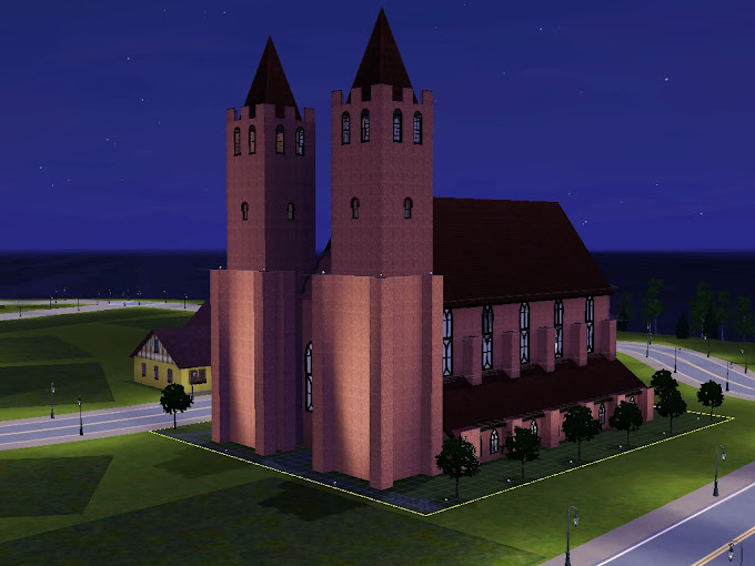 sims3 gotic cathedral