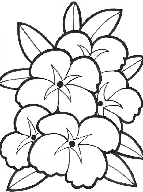 Coloring Pages Of Flowers For Teenagers Difficult Printable Printable Flower  Coloring Pages