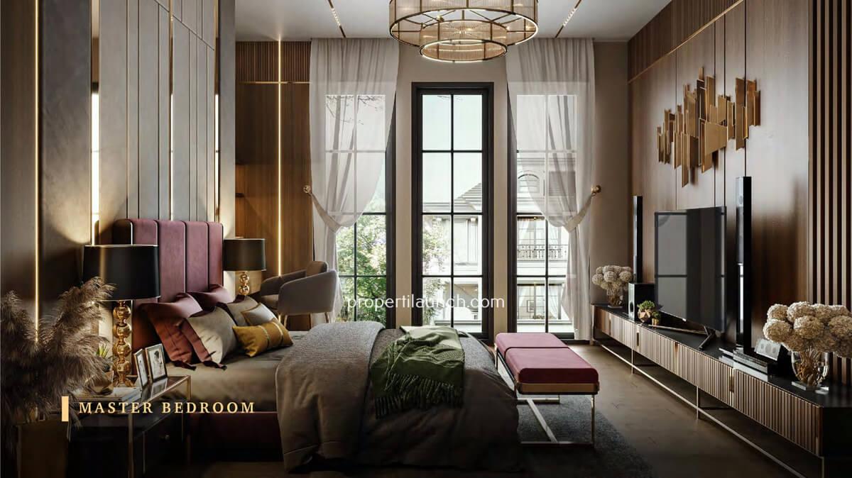 Master Bedroom Rumah Bukit Podomoro Jakarta Tipe 8