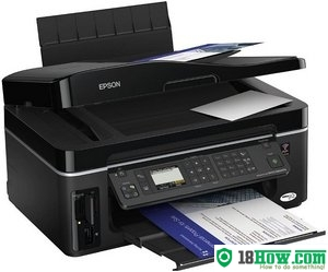 How to Reset Epson BX600FW flashing lights problem